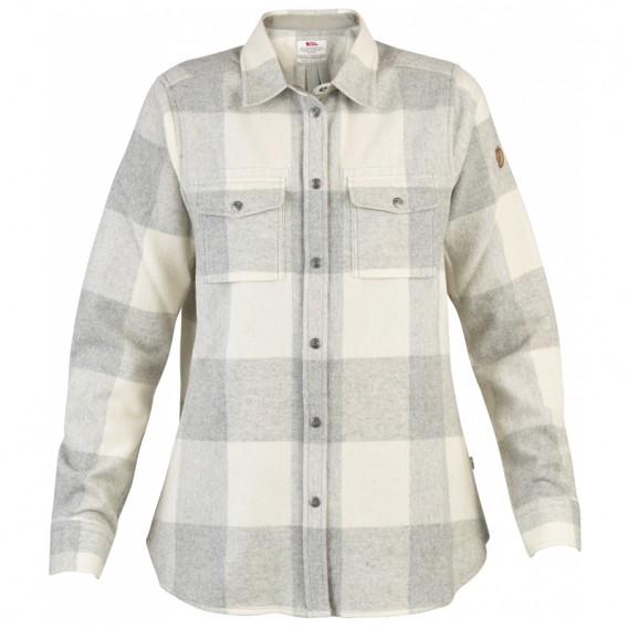 9913d858d6370b FjällRäven Canada Shirt LS Damen Hemd Fog- Chalk White im ARTS-Outdoors  Fjällräven-