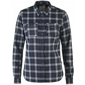 FjällRäven Fjällglim Stretch Shirt LS Damen Hemd Dark Navy hier im Fjällräven-Shop günstig online bestellen