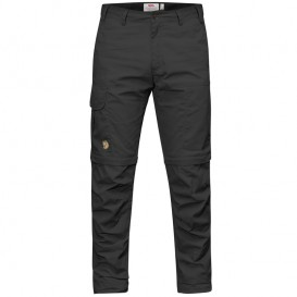 FjällRäven Karl Pro Zip-Off Trousers Herren Outdoorhose Dark Grey im ARTS-Outdoors Fjällräven-Online-Shop günstig bestellen