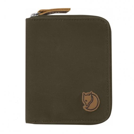 FjällRäven Zip Wallet Geldbeutel Dark Olive hier im Fjällräven-Shop günstig online bestellen
