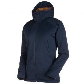 Mammut Chamuera SO Thermo Hooded Jacket Damen Softshelljacke marine im ARTS-Outdoors Mammut-Online-Shop günstig bestellen