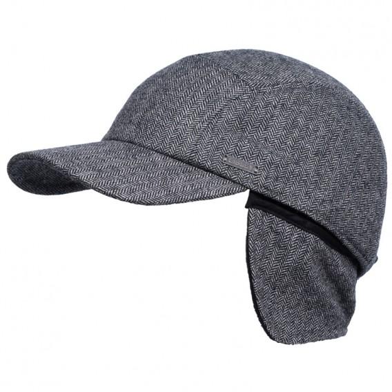 Eisley Davik Earflaps Herren Kappe grau melange hier im Eisley-Shop günstig online bestellen