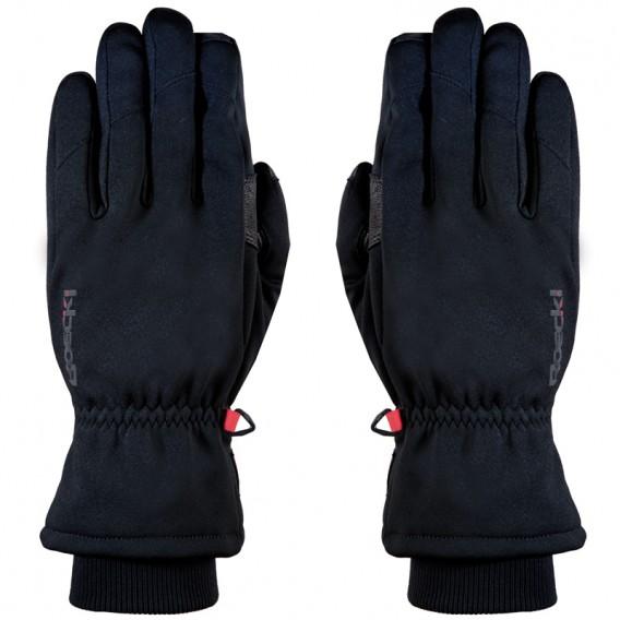 Roeckl Kiberg Multisport Windstopper Handschuhe schwarz-rot hier im Roeckl-Shop günstig online bestellen