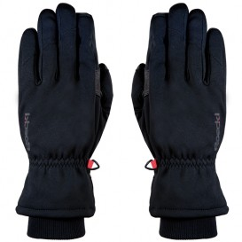 Roeckl Kiberg Multisport Windstopper Handschuhe schwarz-rot
