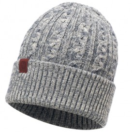 Buff Knitted Hat Strickmütze braidy grey hier im Buff-Shop günstig online bestellen