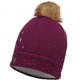 Buff Junior Knitted Polar Darsy Hat Kinder Strickmütze mardi grape- purple hier im Buff-Shop günstig online bestellen