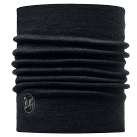 Buff Heavy Merino Wool Merino Multifunktionstuch solid black
