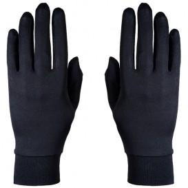 Roeckl Silk Seiden Unterzieher Handschuhe schwarz