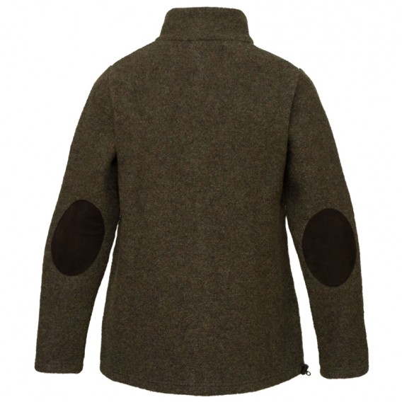Mufflon Bärtram Herren Wollacket forrest leder braun hier im Mufflon-Shop günstig online bestellen