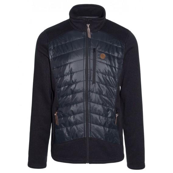 Ternua Chaqueta Likon Hybrid Jacket Herren Hybridjacke black-grey hier im Ternua-Shop günstig online bestellen