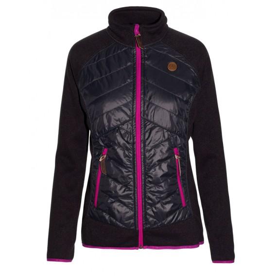 Ternua Chaqueta Kaylin Hybrid Jacket Damen Hybridjacke whales grey hier im Ternua-Shop günstig online bestellen