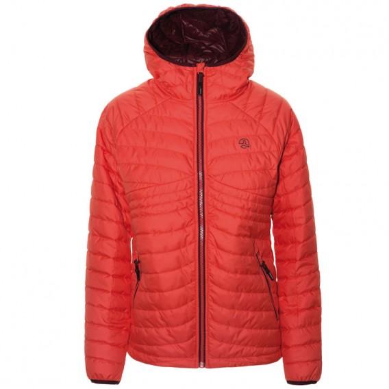 Ternua Chaqueta Zinka Thermo Jacket Damen Winterjacke light magma hier im Ternua-Shop günstig online bestellen