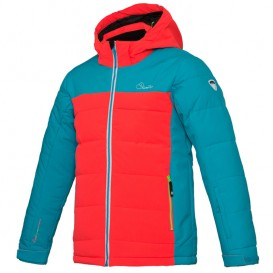Dare2b Improv Jacket Kinder Winterjacke Skijacke fiery coral-aqua blue im ARTS-Outdoors Dare 2B-Online-Shop günstig bestellen