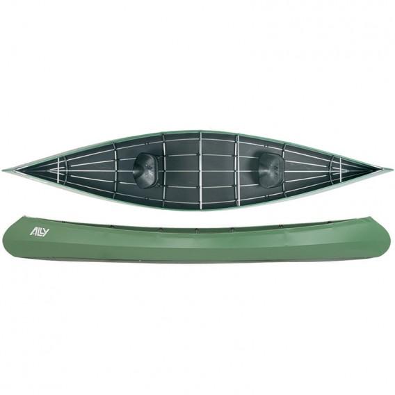 Ally 15 Allround Faltboot Kanadier grün im ARTS-Outdoors Ally Faltboote-Online-Shop günstig bestellen