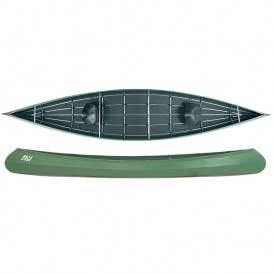 Ally 16.5 Allround Faltboot Kanadier grün