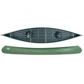 Ally 16.5 DR Allround Faltboot Kanadier grün hier im Ally Faltboote-Shop günstig online bestellen