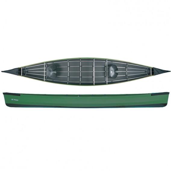 Ally 17 Seekanadier Faltboot Kanadier grün hier im Ally Faltboote-Shop günstig online bestellen