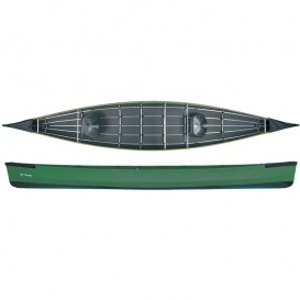 Ally 17 Seekanadier Faltboot Kanadier grün