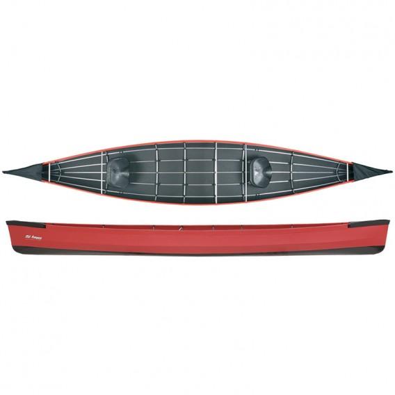 Ally 17 Seekanadier Faltboot Kanadier rot hier im Ally Faltboote-Shop günstig online bestellen
