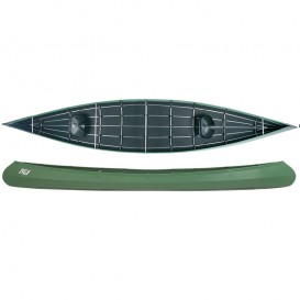 Ally 18 Allround Faltboot Kanadier grün im ARTS-Outdoors Ally Faltboote-Online-Shop günstig bestellen