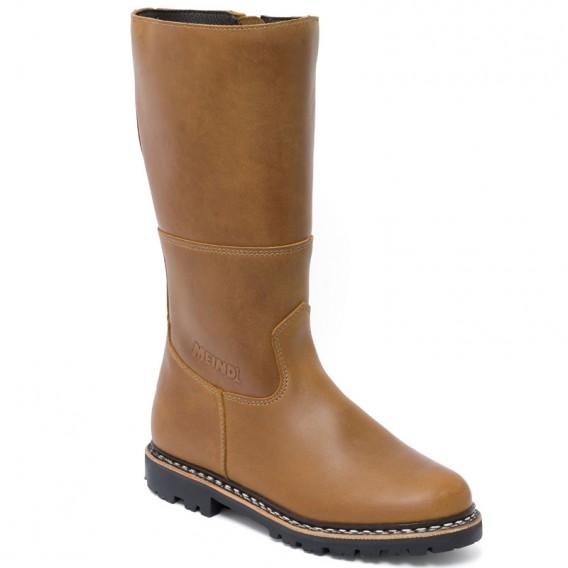 Meindl Kitzbuehel Damen Winterstiefel Lederstiefel mit Lammfell dunkelbraun hier im Meindl-Shop günstig online bestellen