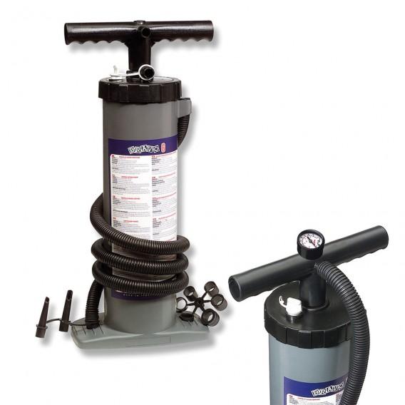 BRAVO Double Action Doppelhubkolben Handpumpe Pumpe inkl. Manometer im ARTS-Outdoors BRAVO-Online-Shop günstig bestellen