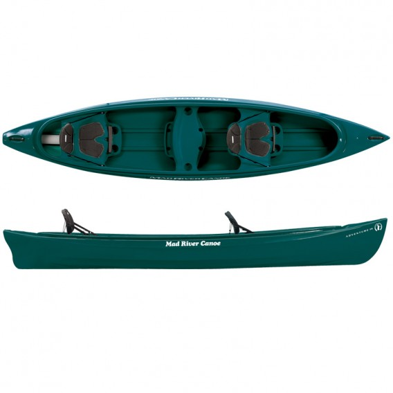 Mad River Canoe Adventure 14 Freizeit Kanadier spruce hier im Mad River Canoe-Shop günstig online bestellen
