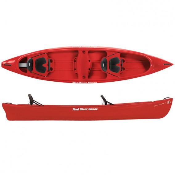 Mad River Canoe Adventure 14 Freizeit Kanadier rot hier im Mad River Canoe-Shop günstig online bestellen