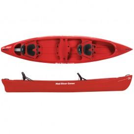 Mad River Canoe Adventure 14 Freizeit Kanadier rot im ARTS-Outdoors Mad River Canoe-Online-Shop günstig bestellen