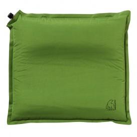 Nordisk Morgen Pillow aufblasbares Reisekopfkissen grün