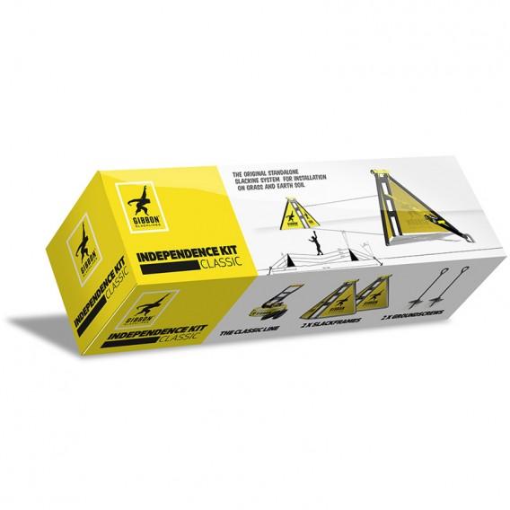 Gibbon Independence Kit Classic mit Classic Line und Screw hier im GIBBON-Shop günstig online bestellen
