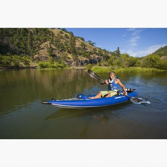 Aquaglide Chelan Tandem HB 2er Kajak aufblasbares Tourenkajak Luftboot hier im Aquaglide-Shop günstig online bestellen