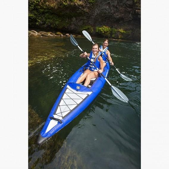 Aquaglide Chelan Two HB 2er Kajak aufblasbares Tourenkajak Luftboot im ARTS-Outdoors Aquaglide-Online-Shop günstig bestellen