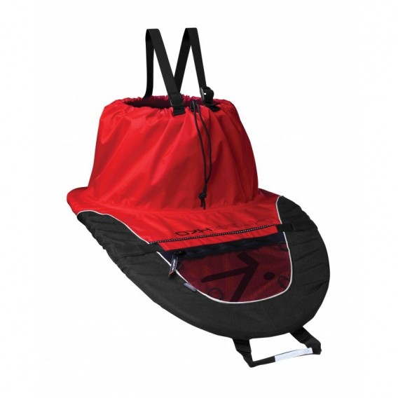 Hiko Trek und PU Bungee Kajak Spritzdecke Spritzschutz Neopren rot hier im Hiko-Shop günstig online bestellen