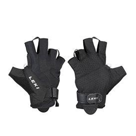 Leki Summer Shark Nordic Walking Handschuhe schwarz-weiss