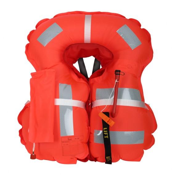 Secumar Arkona 275 aufblasbare Rettungsweste Paddelweste rot-weiß hier im Secumar-Shop günstig online bestellen