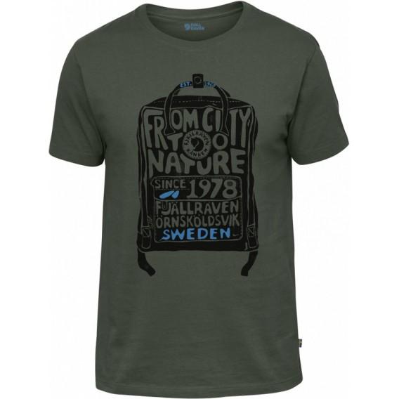 Fjällräven Kånken T-Shirt Herren deep forest hier im Fjällräven-Shop günstig online bestellen