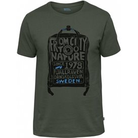 Fjällräven Kånken T-Shirt Herren deep forest