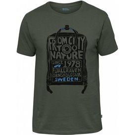 Fjällräven Kånken T-Shirt Herren deep forest im ARTS-Outdoors Fjällräven-Online-Shop günstig bestellen