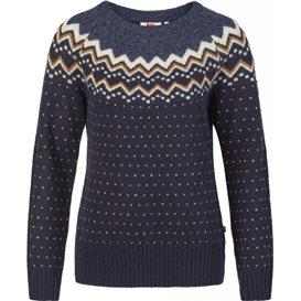 Fjällräven Övik Knit Sweater Damen Wollpullover dark navy im ARTS-Outdoors Fjällräven-Online-Shop günstig bestellen