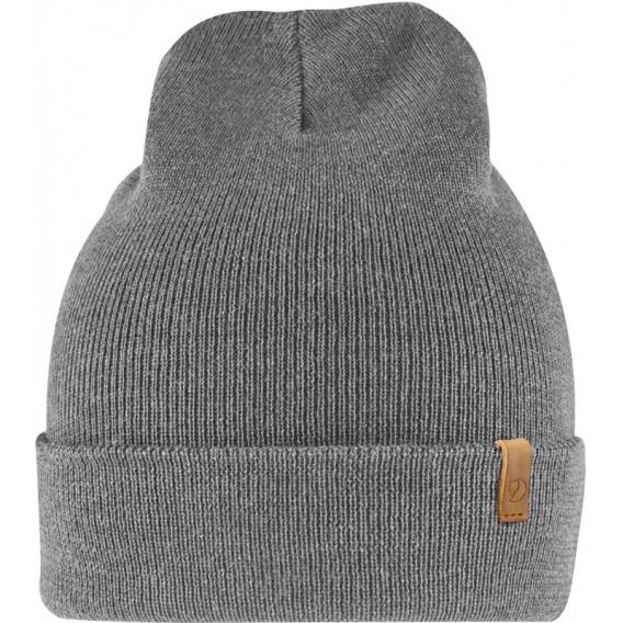 Fjällräven Classic Knit Hat Strickmütze aus Merinowolle grey hier im Fjällräven-Shop günstig online bestellen