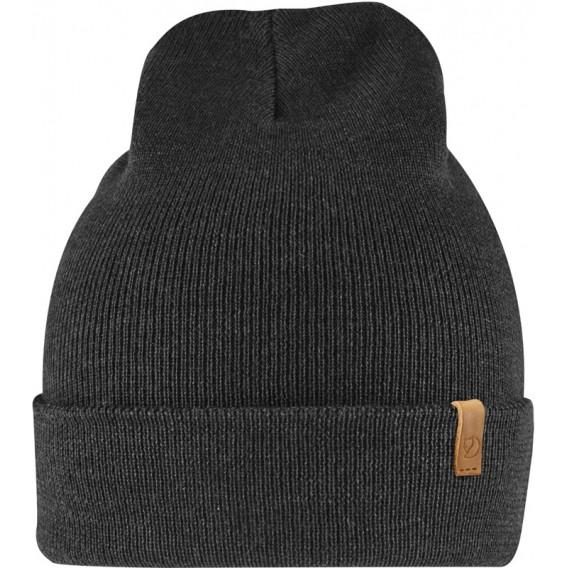 Fjällräven Classic Knit Hat Strickmütze aus Merinowolle black hier im Fjällräven-Shop günstig online bestellen