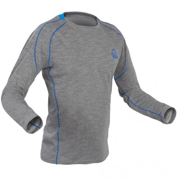 Palm Arun Longsleeve Herren Fleece Paddel Unterwäsche Funktionsshirt heather grey hier im Palm-Shop günstig online bestellen