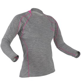 Palm Arun Longsleeve Damen Fleece Paddel Unterwäsche Funktionsshirt heather grey im ARTS-Outdoors Palm-Online-Shop günstig beste