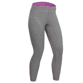 Palm Arun Pant Damen Fleecehose Paddel Unterwäsche Funktionshose heather grey