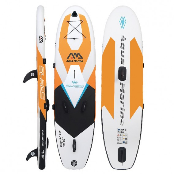 Aqua Marina Blade Windsurf Inflatable Stand Up Paddle Board aufblasbares SUP im ARTS-Outdoors Aqua Marina-Online-Shop günstig be