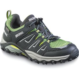 Meindl Alon Junior GTX Kinder Jugend Wanderschuh anthrazit-lemon