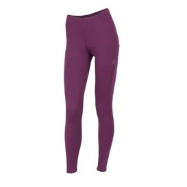 Aclima Warmwool Long Pants Damen Merino Unterwäsche grape wine