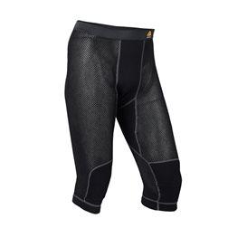Aclima Woolnet 3/4 Long Pants Herren Funktionshose jet black