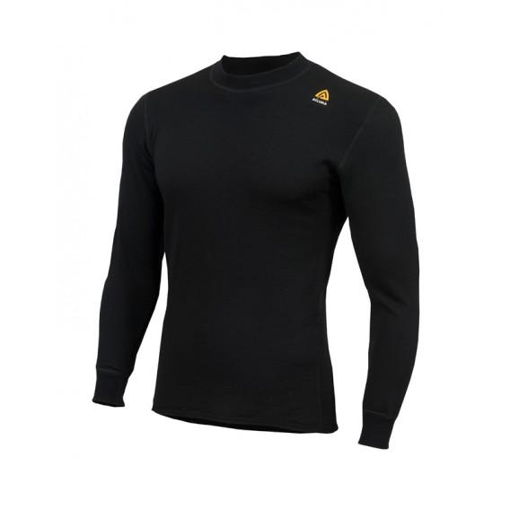 Aclima Hotwool Crew Neck Unisex Merino Unterwäsche jet black hier im Aclima-Shop günstig online bestellen